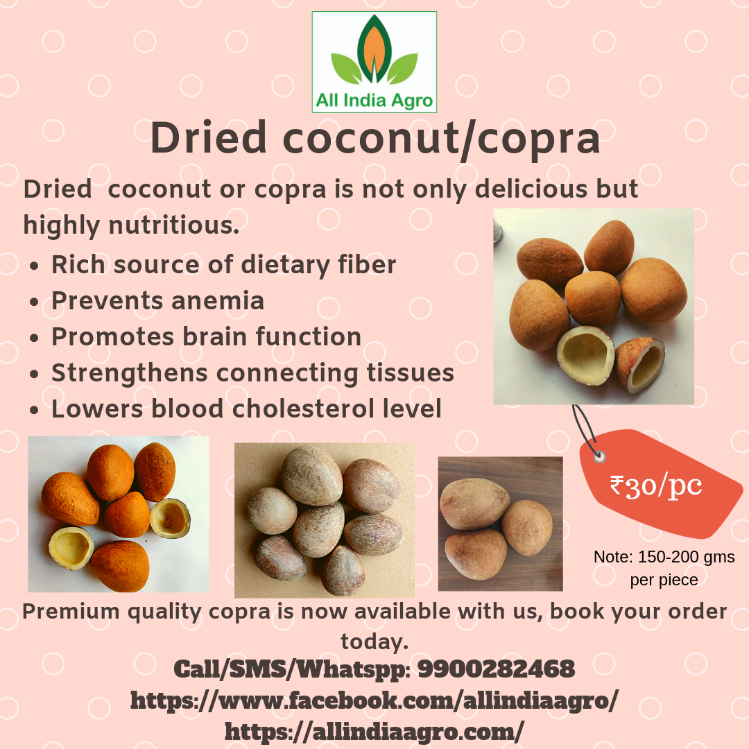 Dried coconut �C Copra (price/pc) �C All India Agro1080 x 1080 png 704kB